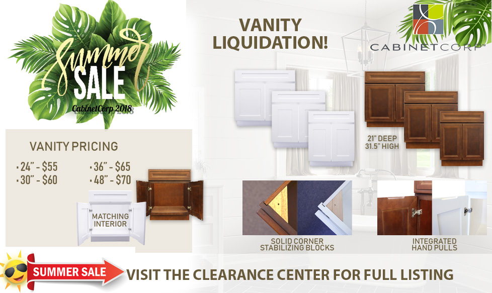 Cabinetcor-vanity-sale-2018-summer
