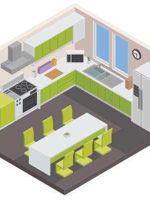 Kitchen Design Layouts Cabinetcorp