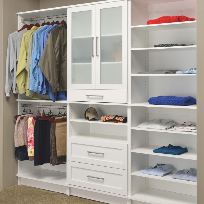 75 BEST Closet With White Cabinets Pictures & Ideas | Houzz
