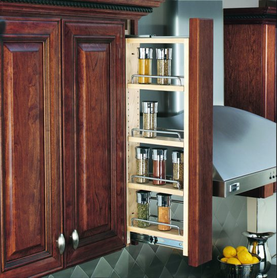 """432-WF36-3C - 3"""" Wall Filler Pullout 36""""T"""