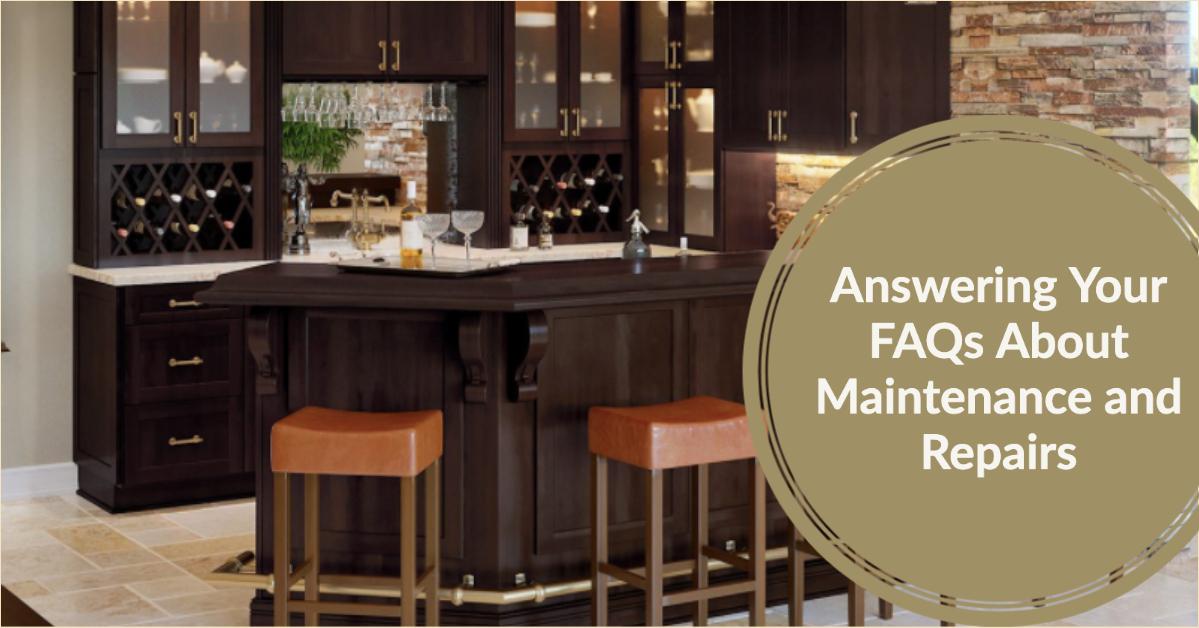 FAQ cabinet maintenance and repair cabinet corp