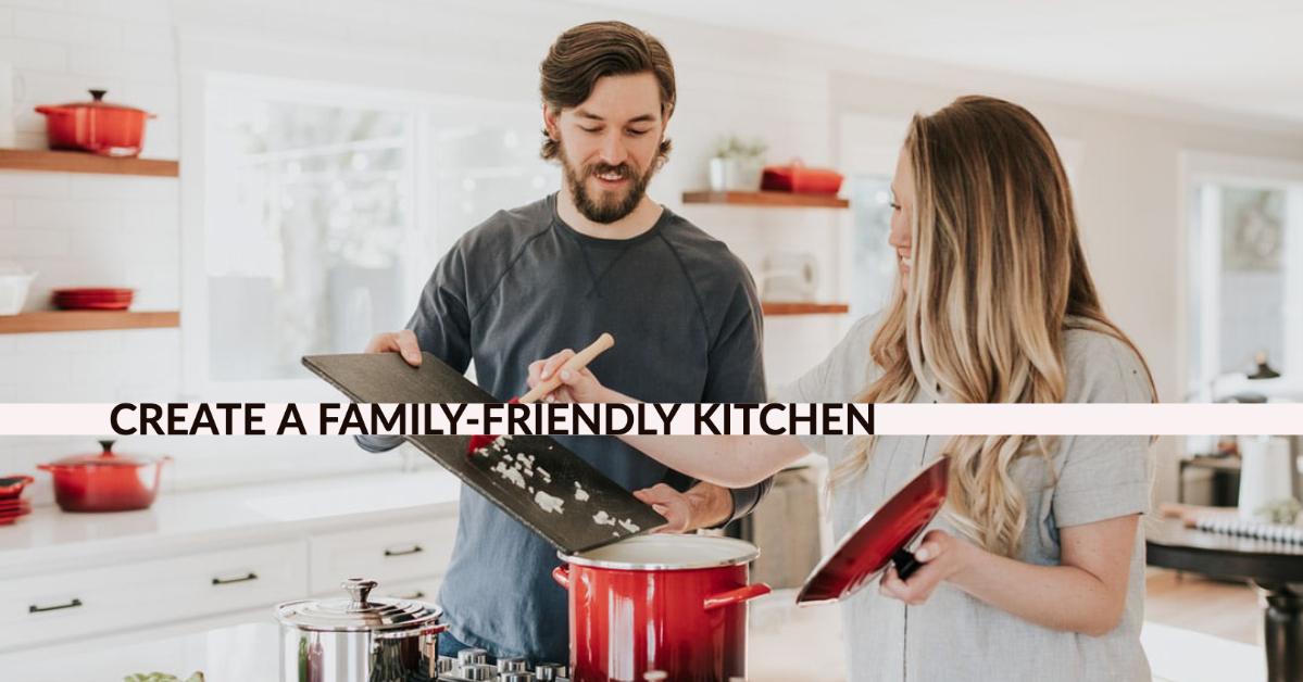 family-friendly kitchen