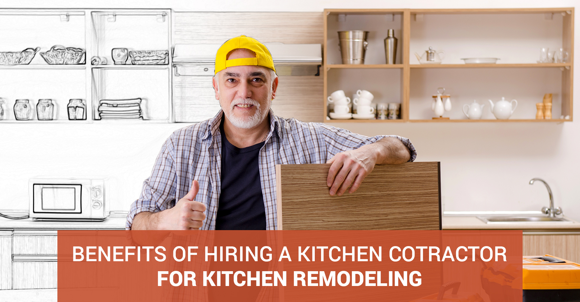 Benefits of Hiring A Kitchen Contractor For Kitchen Remodeling