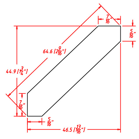 SC-ACM8 - Molding-Angle Crown Molding - 96 inch