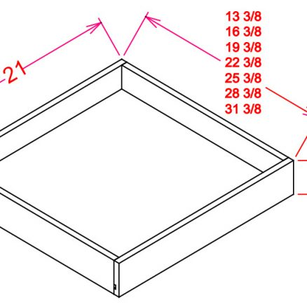 RS21-TypeA RS21 Roll Out Shelf B21