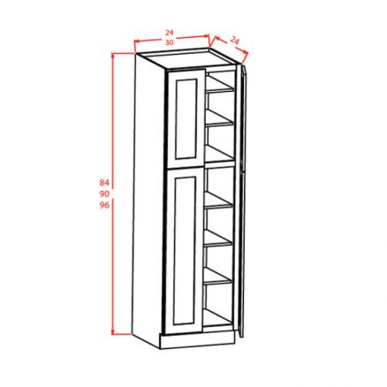 YC-U309624 - Utility Cabinets With Four Doors - 30 inch
