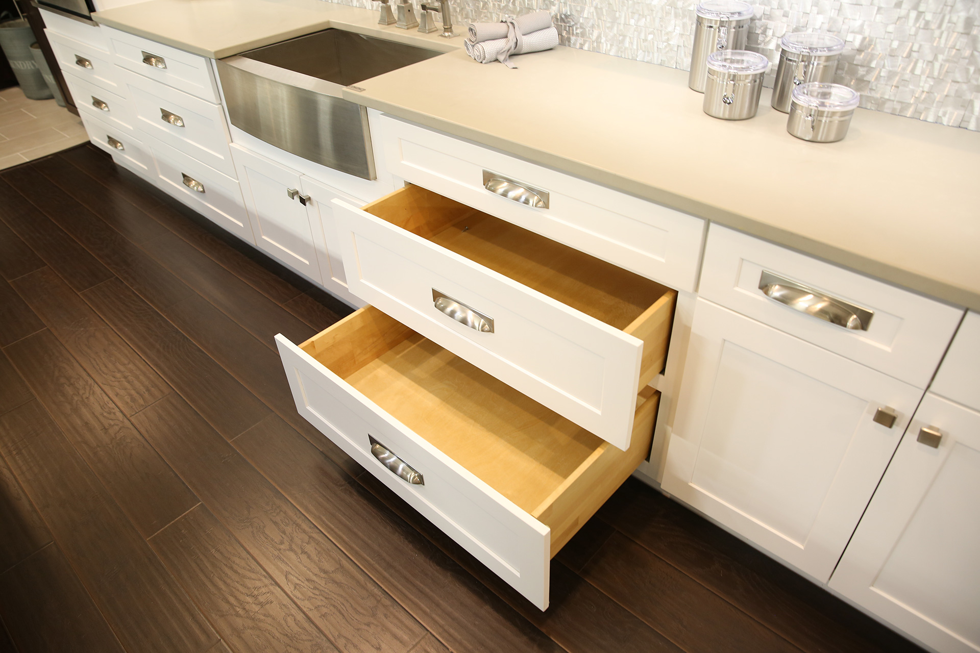shaker style cabinetry