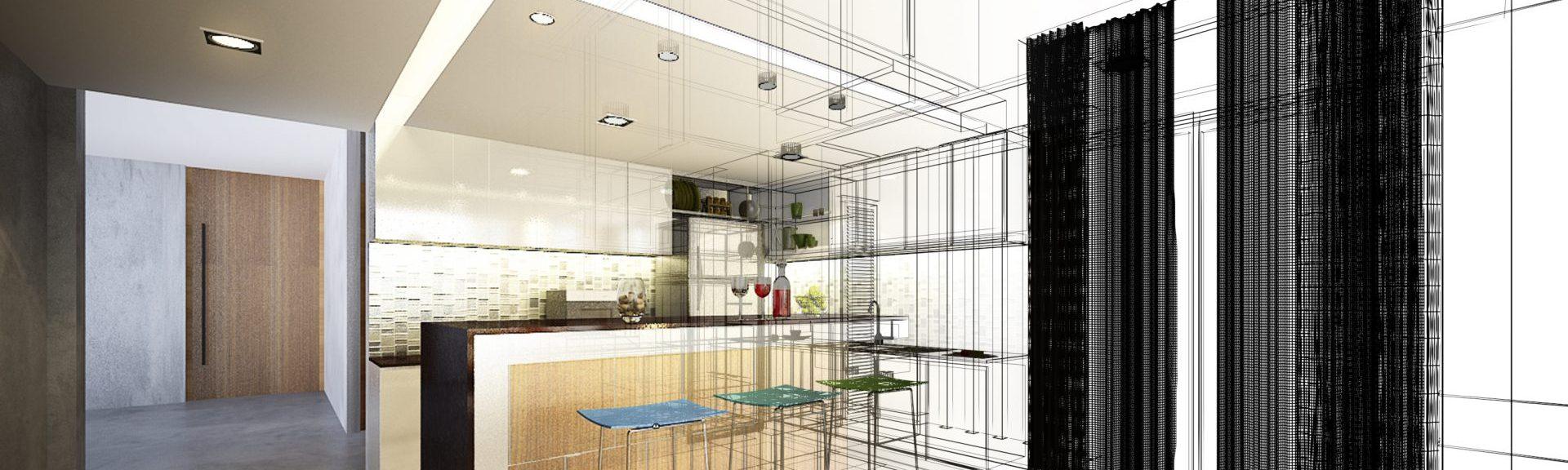 Efficient kitchen space