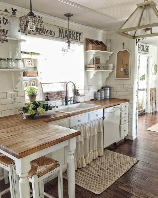 Dusk farmhouse kitchen cabinet ideas
