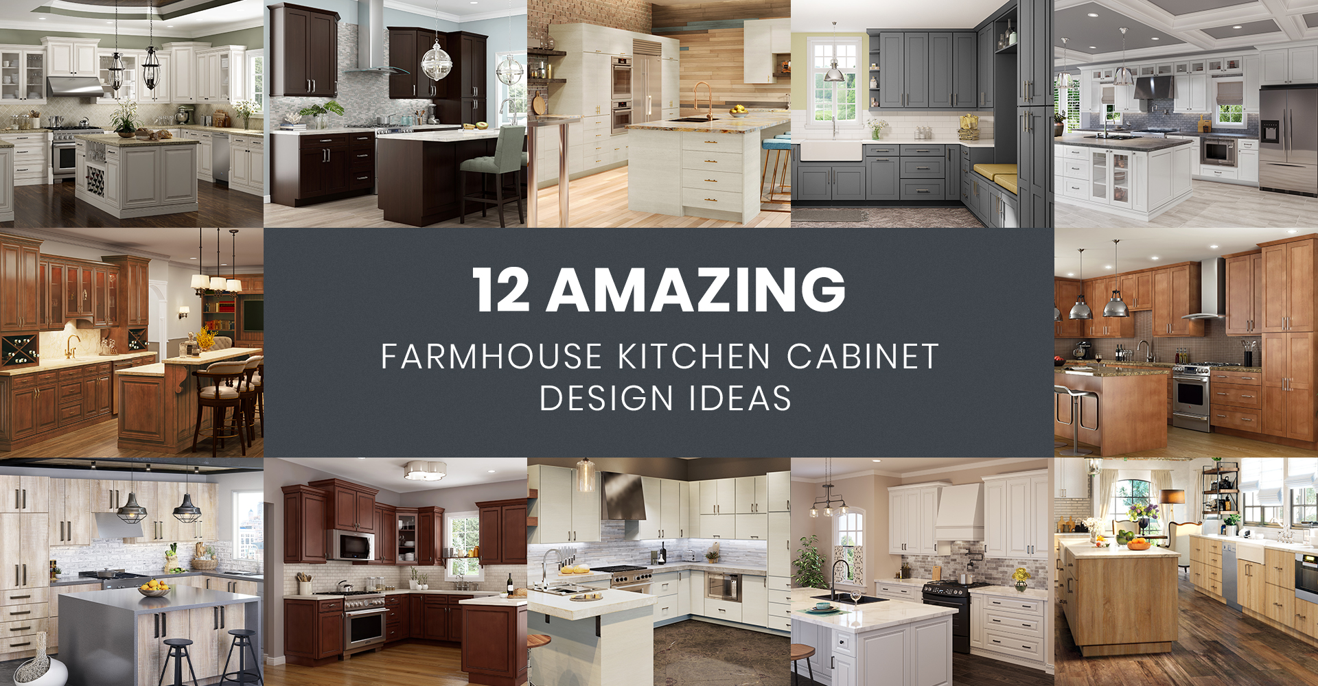 Amazing Farmhouse Kitchen Cabinet Design Ideas