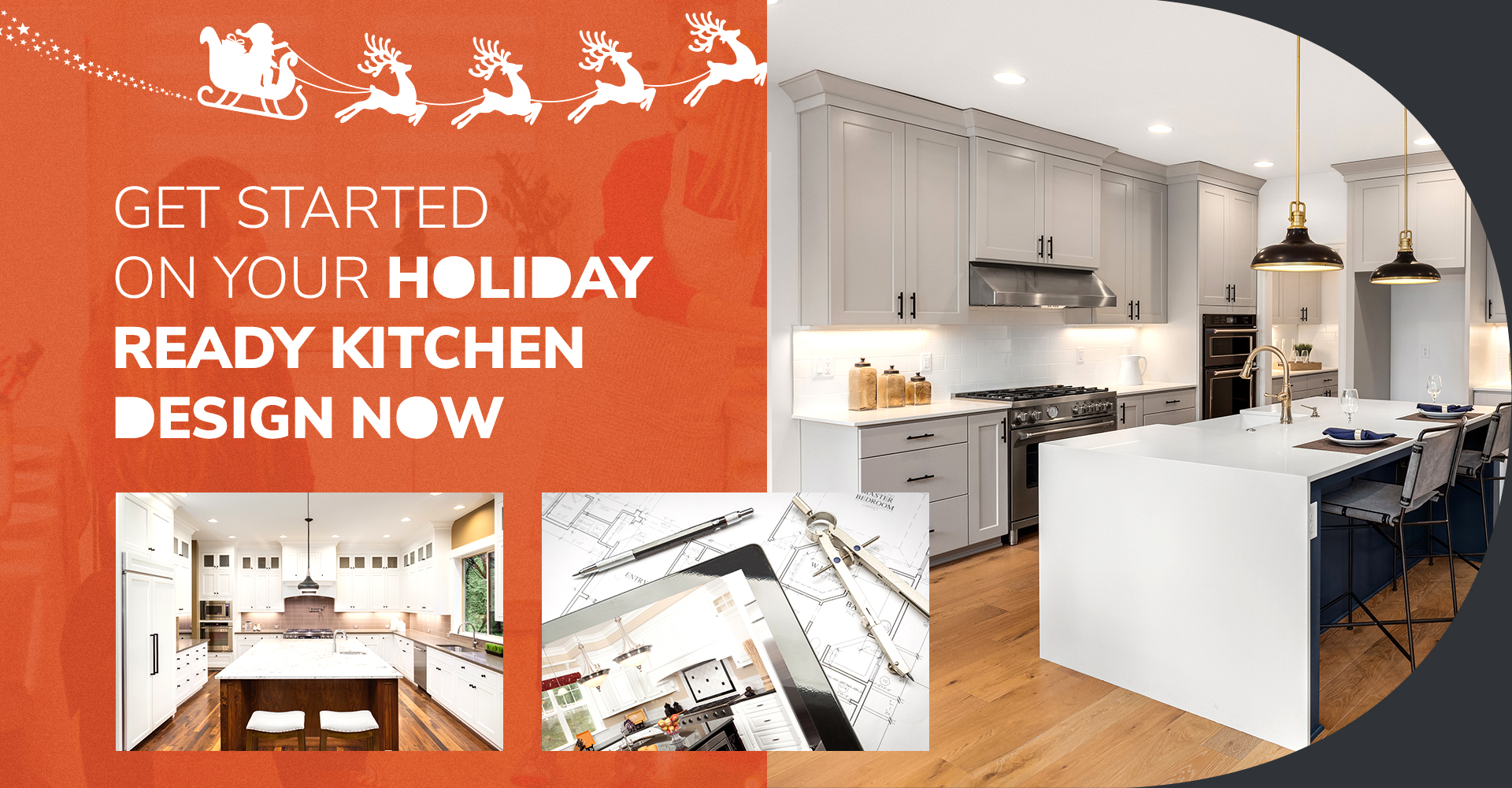Get Started on Your Holiday Ready Kitchen Design Now