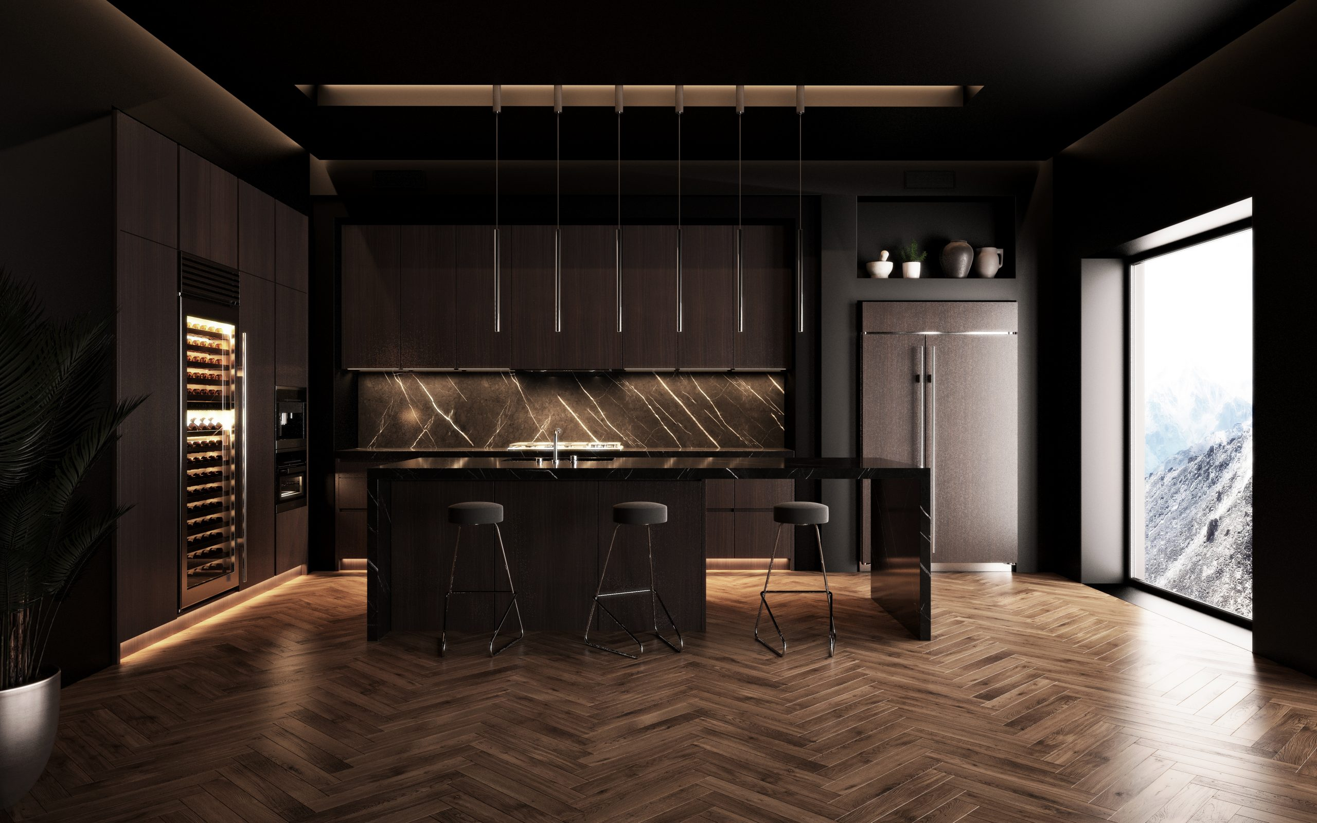 7 Reasons To Choose Dark Cabinets For The Kitchen Cabinetcorp