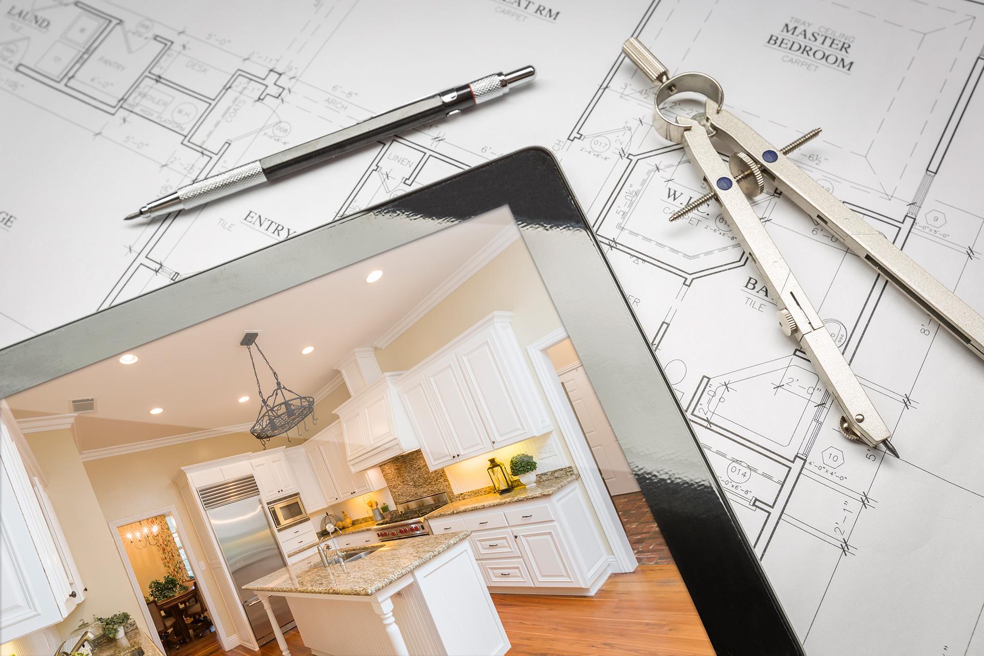 measure kitchen design