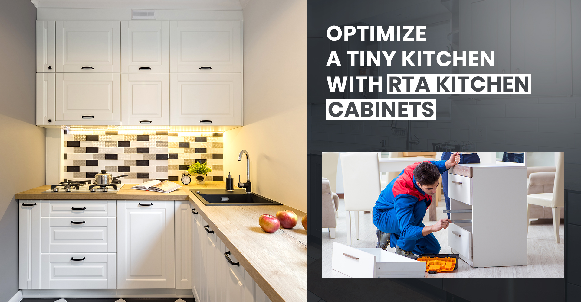 Optimize A Tiny Kitchen With Rta Kitchen Cabinets Cabinetcorp