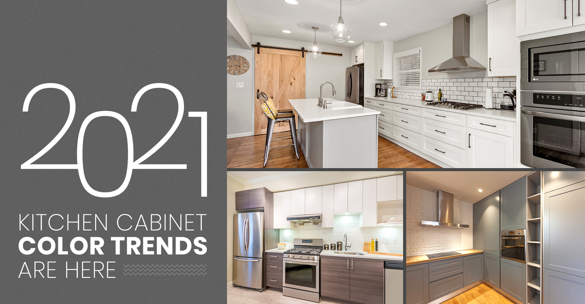2021 Kitchen Cabinet Color Trends Are Here
