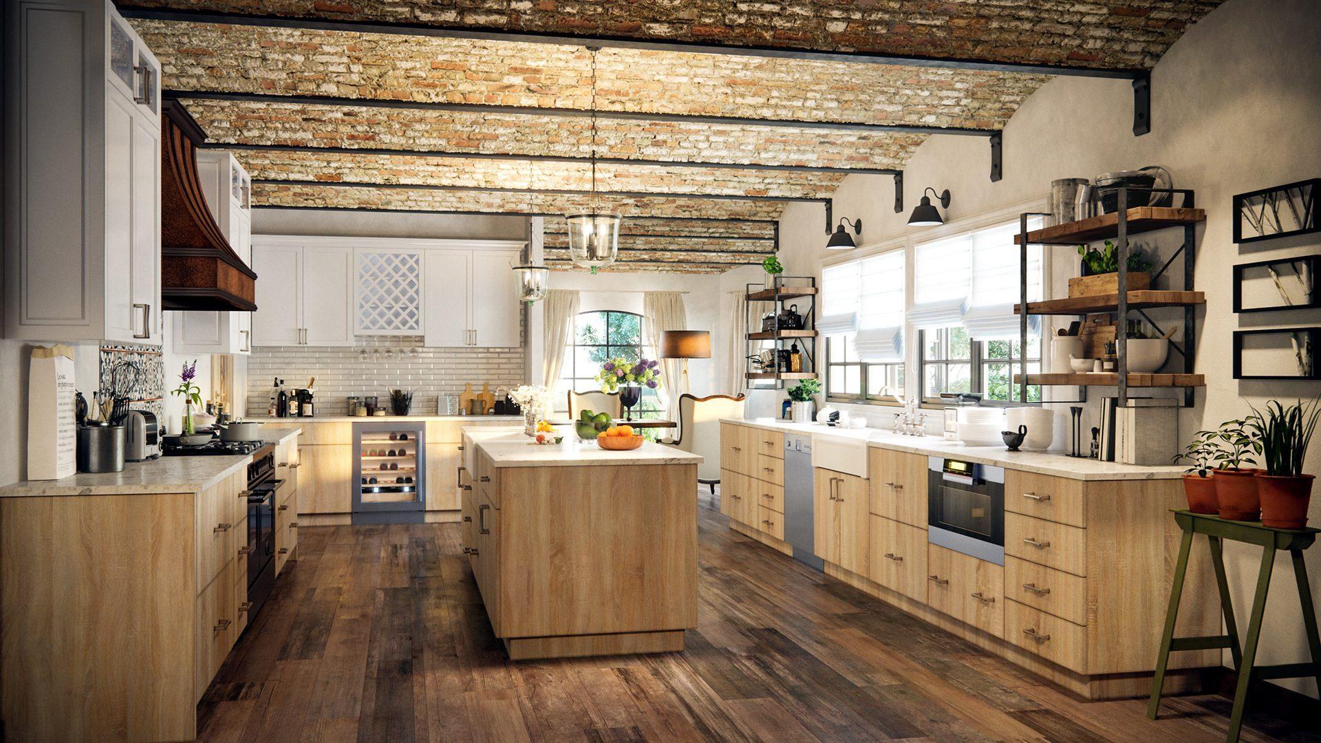 Benefits of a U-shaped kitchen