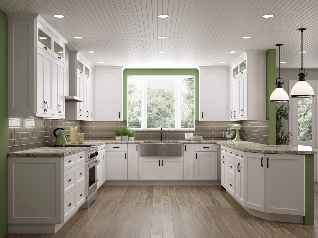10 Design Ideas To Optimize A U Shaped Kitchen Cabinetcorp