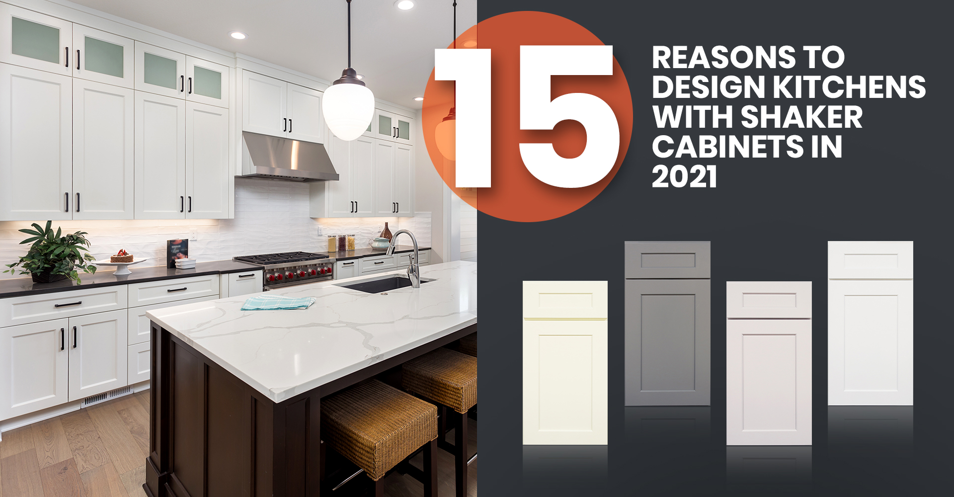 15 Reasons to Design Kitchens With Shaker Cabinets In 2021