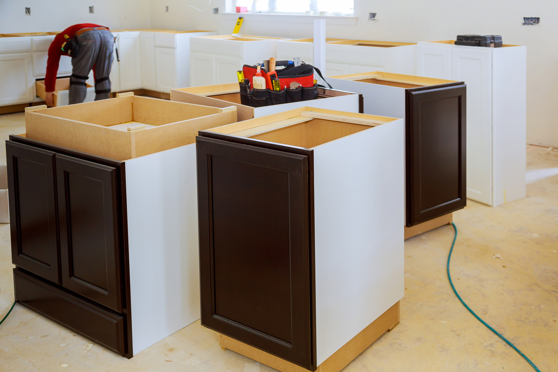 Quality cabinets not available in retail stores