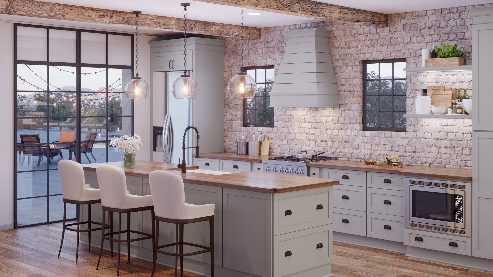 Shaker kitchen cabinets available as ready-to-assemble (RTA) cabinets