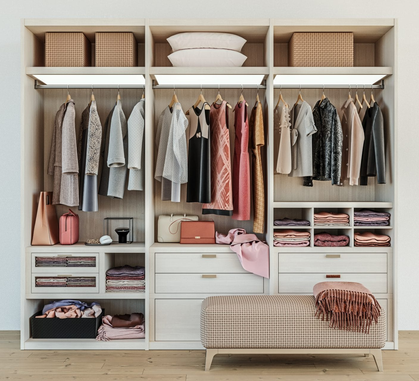 Transform and optimize small spaces with closet systems