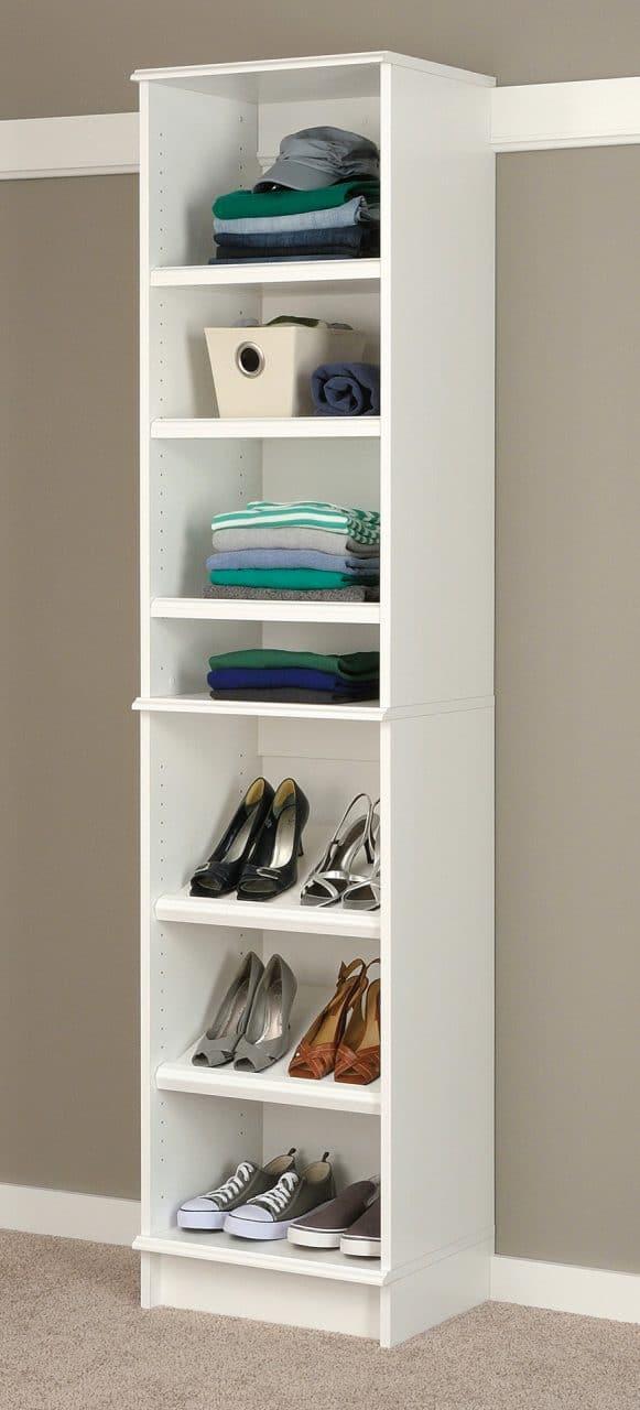 Transform the linen closet